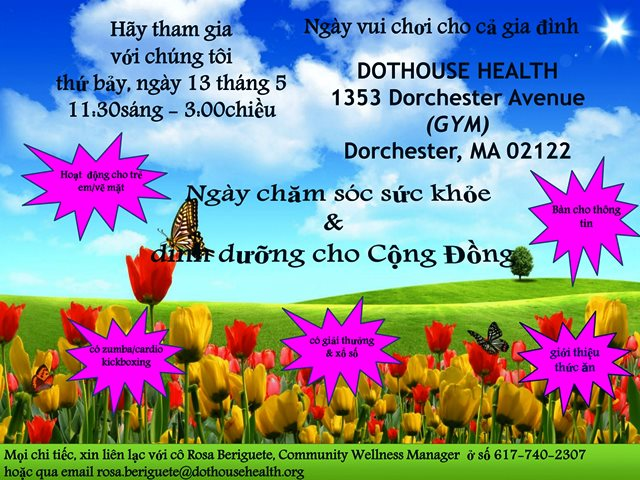 Wellness and Nutrition Day Flyer Vietnamese-1a